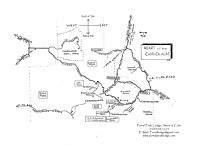 Road-Map-Chiricahua-Mountains-Area